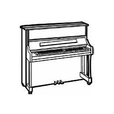 Gratis Malvorlagen Klavier Malvorlagen Musikinstrumente Musik