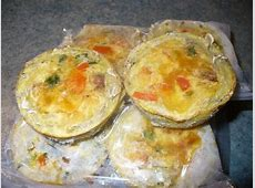 pre made breakfast quiches  veg or meat  wheat free  dairy free_image