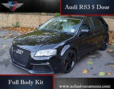 audi s3 8p tuning audi rs3 5 door kit for audi a3 8p 2004 to 2009