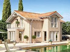 haus mit steinfassade celebration 137 v6 einfamilienhaus mediterranes haus