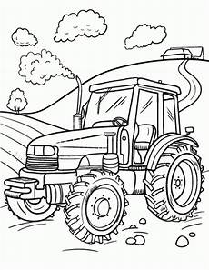 20 free printable tractor coloring pages