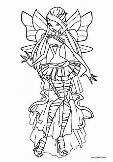 free printable winx coloring pages for