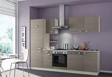 Küche Komplett Mit E Geräten - optifit k 252 chenzeile mit e ger 228 ten 187 vigo breite 270 cm
