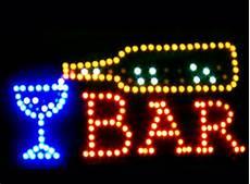 decoration lumineuse bar