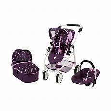 bayer chic kombi puppenwagen 3 in 1 emotion all in
