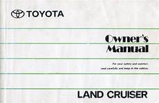 small engine service manuals 2013 toyota land cruiser parking system 1991 toyota land cruiser owners manual covers 70 by bj74lx on