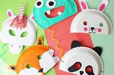 Faschingsmasken Basteln Anleitung Kindermasken Aus