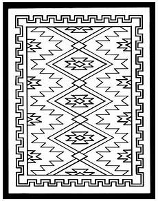 Indianische Muster Malvorlagen Text Southwest Coloring Pages At Getcolorings Free