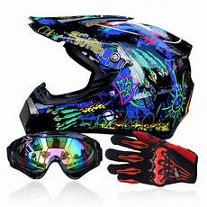 dirt bike helm helmet goggles gloves racing helmet dirt bike atv
