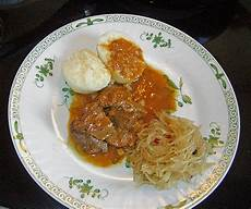 Gulasch Rezept Chefkoch - gulasch mit sauerkraut rezepte chefkoch de