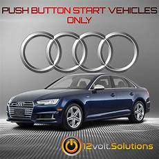 2017 2020 audi s4 plug and play remote start kit 12volt solutions