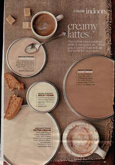 creamy latte paint palette brown paint colors paint colors for home paint colors