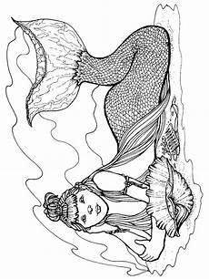 Malvorlagen Meerjungfrau 10 Malvorlagen Meerjungfrau Zum Ausmalen