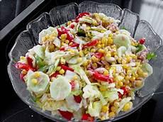 Thunfischsalat Mit Mais - thunfischsalat mit mais und eisbergsalat leckerschmatz