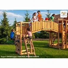 station de jeux en bois s 233 ch 233 lasur 233 rainbow fortress tip