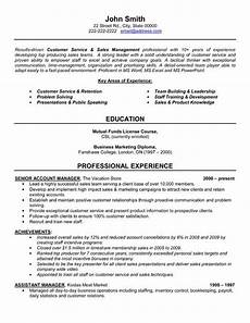 resume sle for customer care oficer click here to download this senior account manager resume