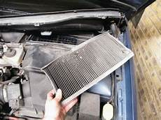 ford focus pollen cabin air filter change