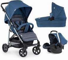 hauck kombi kinderwagen 187 rapid 4 plus trioset denim grey