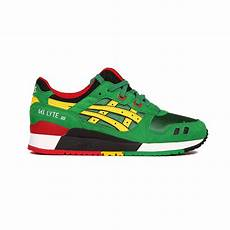 asics gel lyte iii 3 quot carnival pack quot green yellow