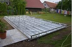 pool terrasse bauen pooldeck stegholz