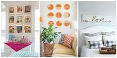 Wall Cheap Diy Home Decor Ideas Diy by 15 Unique Diy Wall Decoration Ideas For Your Blank Walls