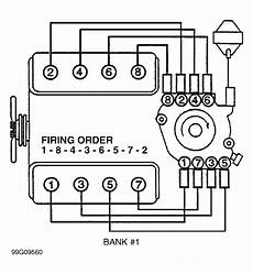 What Is The Firing Order Of A 1999 Chevy 5 7 Motor And Do