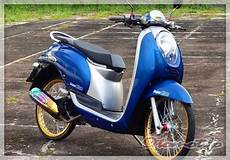 Scoopy 2018 Modif Simple by 2019 Modifikasi Scoopy Terbaru Babylook Thailook Stylish