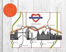 london map themed wedding invitation in 2019 wedding stationery unique wedding