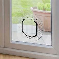 large cat small flap for glass panels