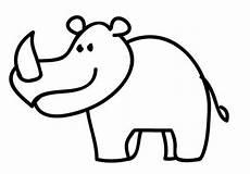 Bilder Zum Ausmalen Nashorn Ausmalbild Tiere Nashorn Zum Ausmalen Kostenlos Ausdrucken