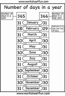 number of days in a year 1 worksheet free printable worksheets worksheetfun
