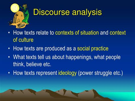 Different Types Of Discourse Analysis