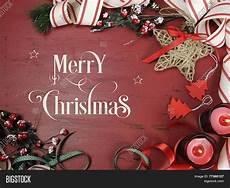 merry christmas text rustic image photo bigstock