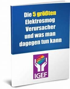 elektrosmog abschirmung test internationale gesellschaft f 252 r elektrosmog forschung igef