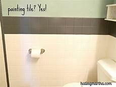 Painting Tiles In Bathroom