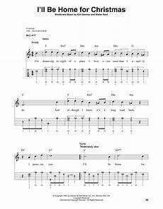 i ll be home for christmas sheet music bing crosby banjo tab