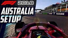 F1 2018 Australia Melbourne Setup