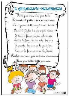 lettere di ringraziamento amicizia il giuramento dell amicizia frasi scuola scuola