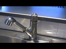 how to fix a leaking moen 1225 series kitchen faucet by