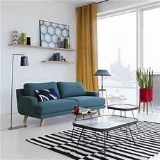petit canap 233 2 places dans un salon cosy la redoute