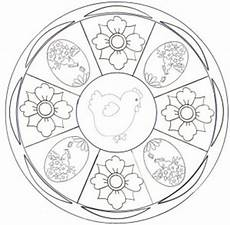 easter mandala coloring page crafts and worksheets for