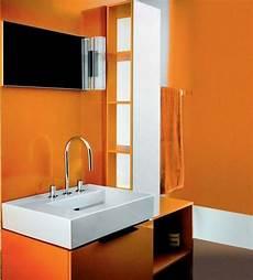 d 233 co salle de bain en orange quelques id 233 es originales