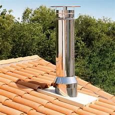 souche de cheminée inox conduit de chemin 233 e paroi isol 233 inox galva