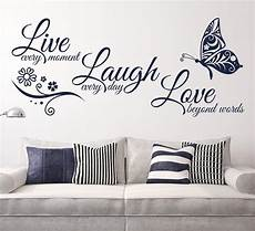 Live Laugh Stickers For Wall live laugh wall decals stickers bedroom quotes