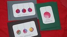 weihnachtskarten selber basteln diy