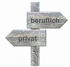 beruflich und privat