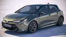 toyota models 2019 toyota 2019 auris 3d model turbosquid 1284468