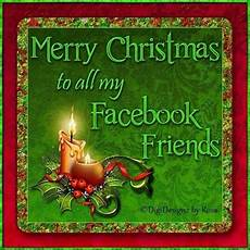 merry christmas to all my facebook friends pictures photos and images for facebook