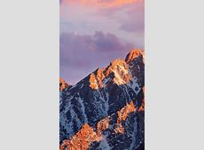 Mac Os Apple Art Background Mountain #iPhone #6 #plus #