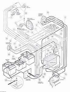 Solved I Need A Wiring Diagram For A 1987 Club Car Golf